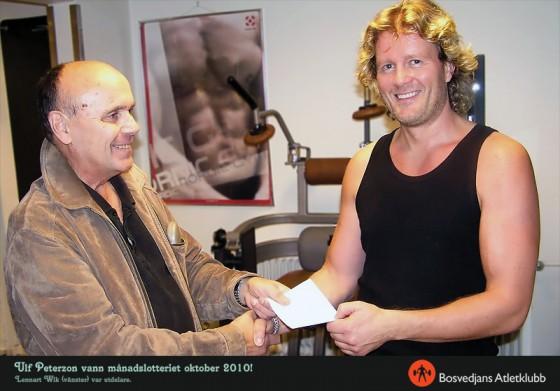 Ulf Peterzon van månadslotteriet oktober 2010!